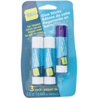 Glue Sticks 9g ea, 3/PK
